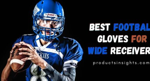 Best football gloves for wide receivers