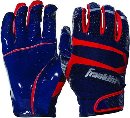 Franklin Sports Football Receiver Gloves