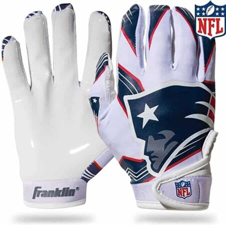 Franklin Sports Youth NFL Football Receiver Gloves-min