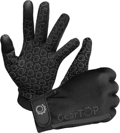 GearTOP Touch Screen Thermal Gloves - Great for Running-min