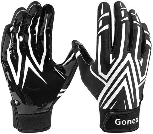 Gonex Football Gloves Adult Mens Receiver Gloves-min