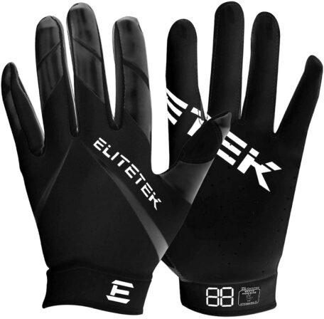 Kids EliteTek RG-14 Super Tight Fitting Football Gloves