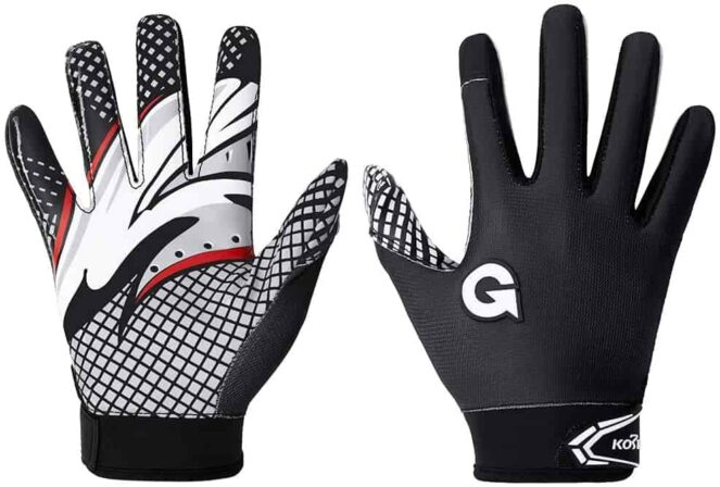football receiver gloves best-min