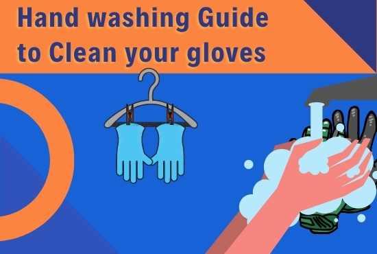 Handwashing gloves guide