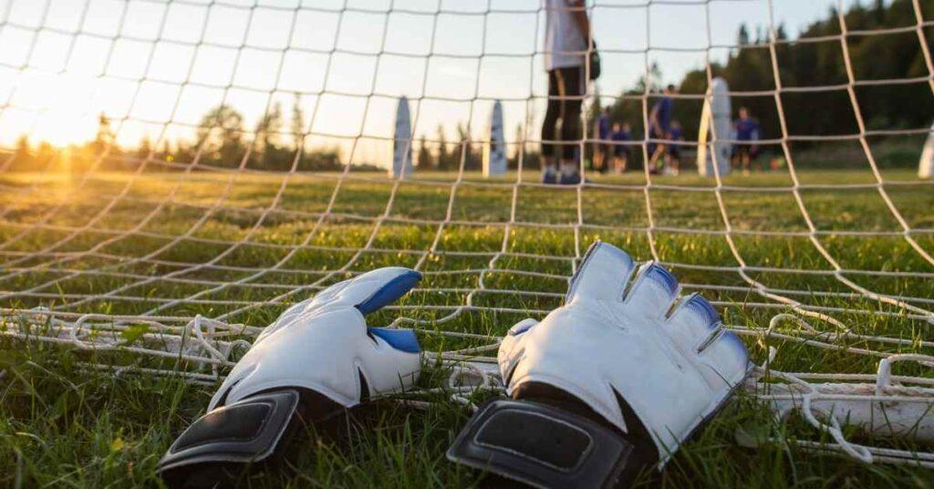 Sun Dry football gloves