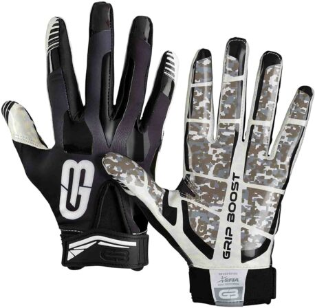 Grip bost stealth 4.0 dual color football gloves-min