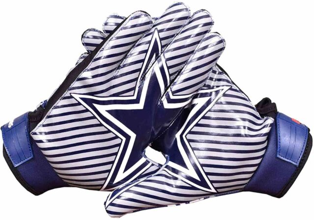 Lycos Gears Cowboys Football Gloves for Youth-min