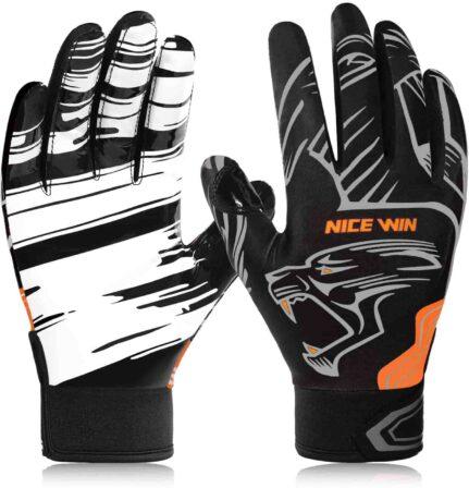 NICEWIN Football gloves Adult Football Gloves-min