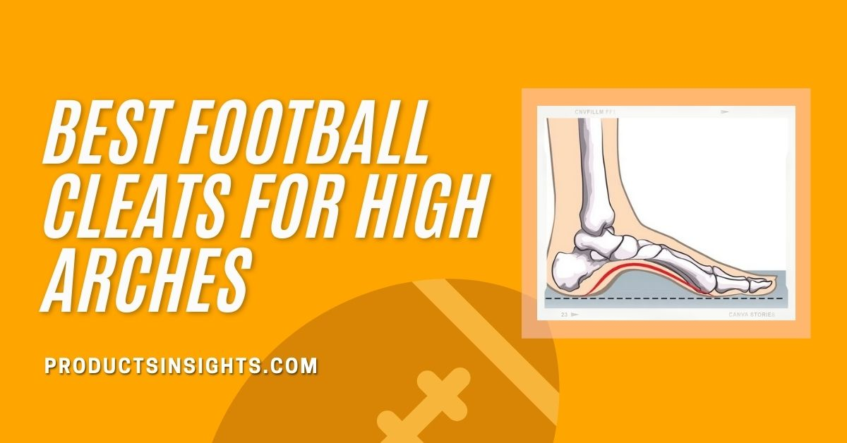 cleats for high arches